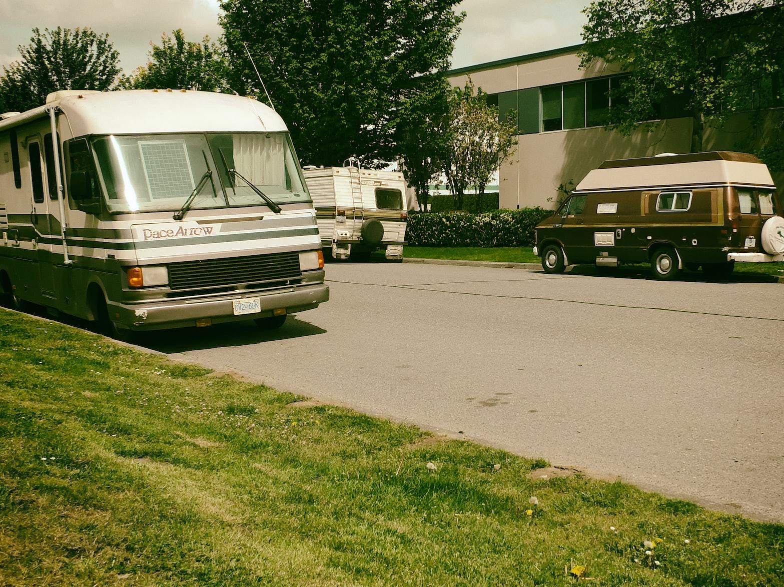 RVs parking