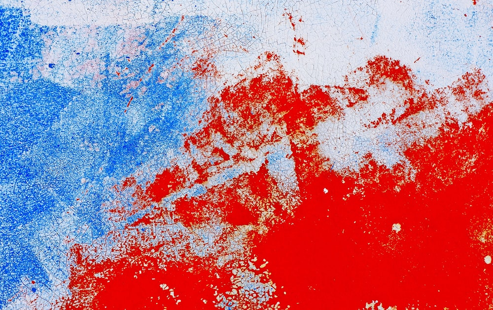 4k00 124k Abstract Red White And Blue Motion Background