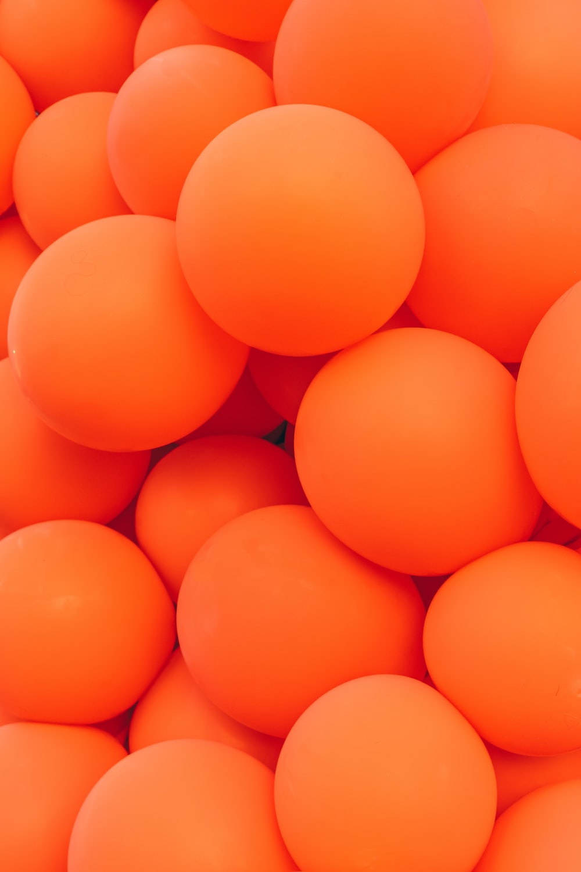 orange ball lot