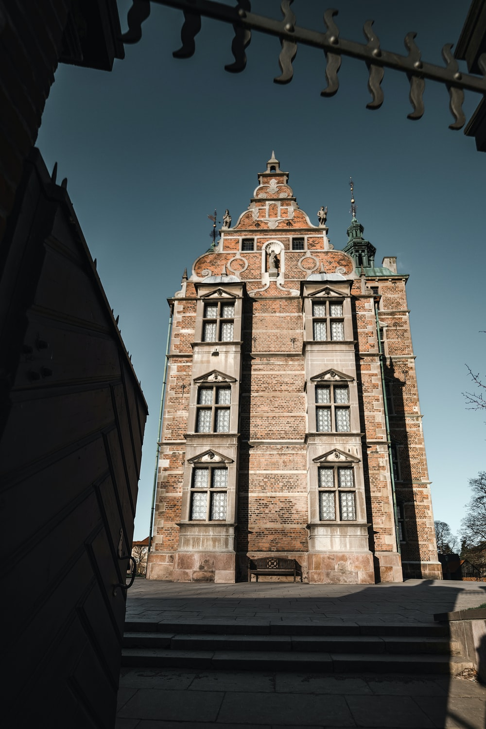stone building during day