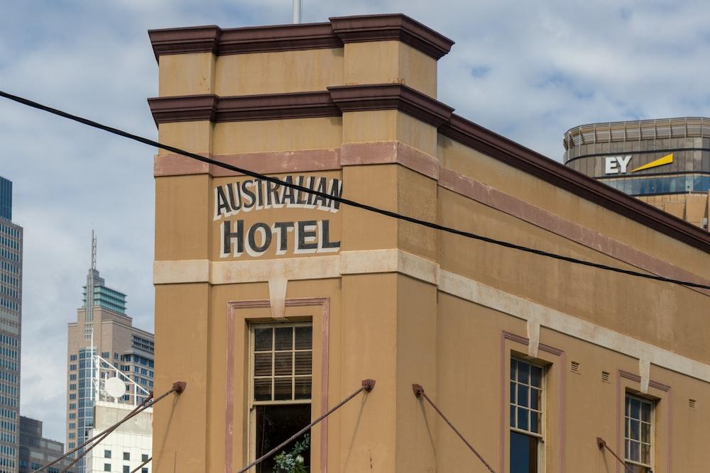 Australian Hotel during daytime