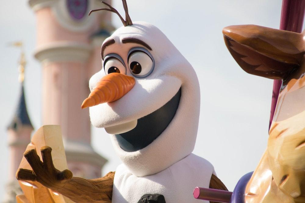 Disney Olaf illustration