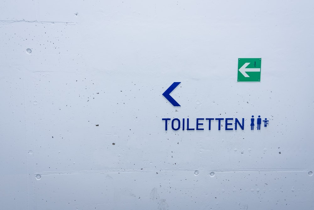 Toiletten signage