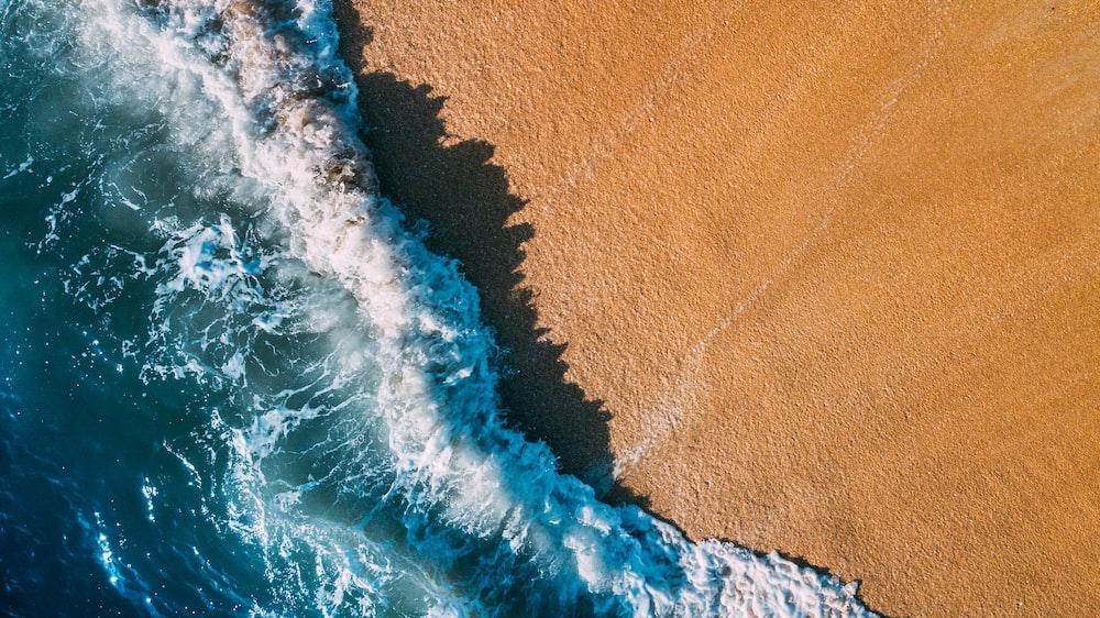 raging seashore
