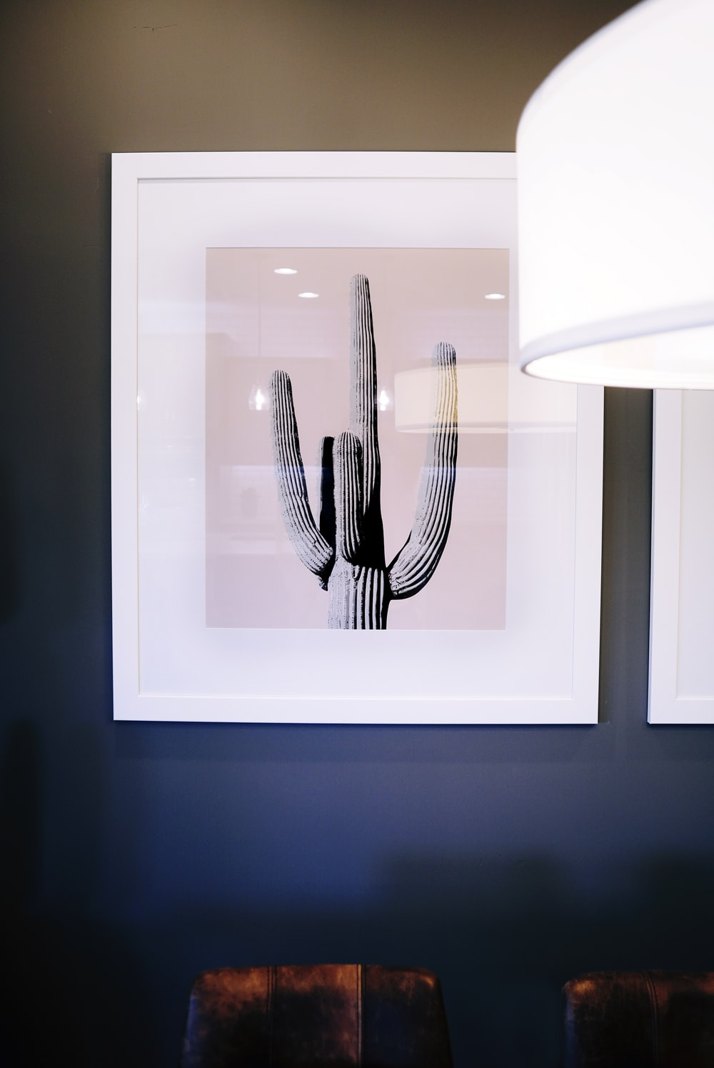 painting of cactus plant