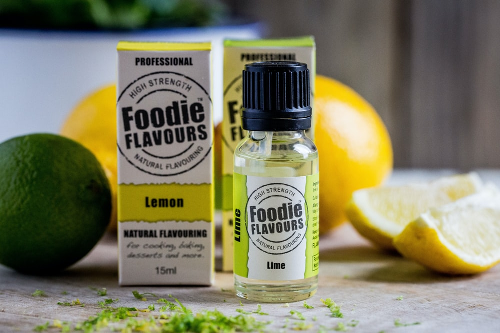 fruits and Foodie Flavours bottles