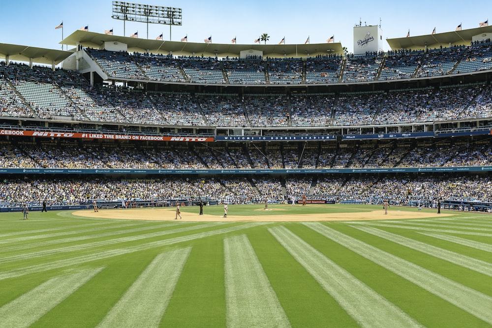 baseball stadium during daytime