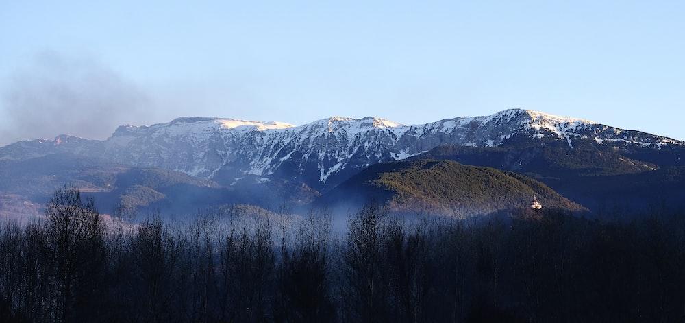 mountain alps during daytime