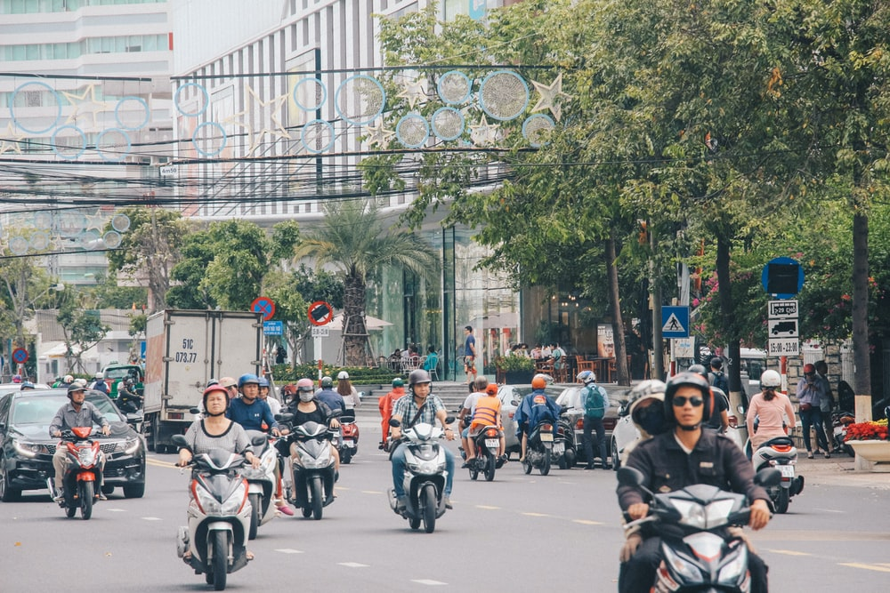 people riding motorcycles during daytime