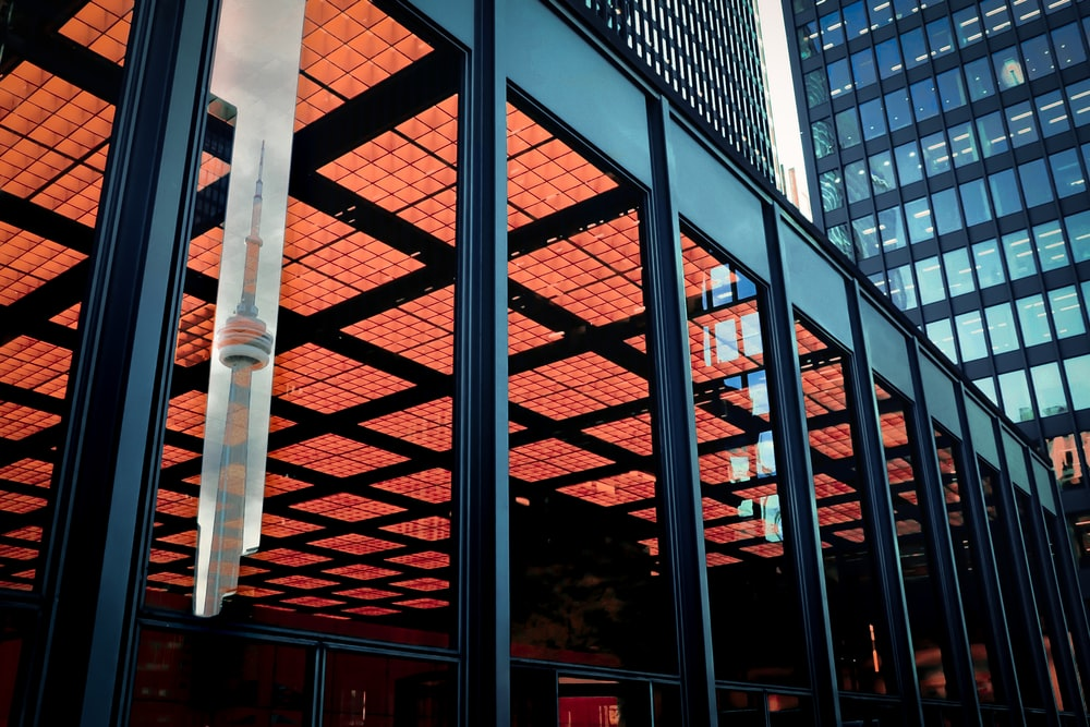 glass building at daytime