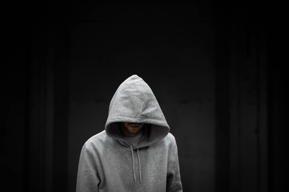 person in pullover hoodie