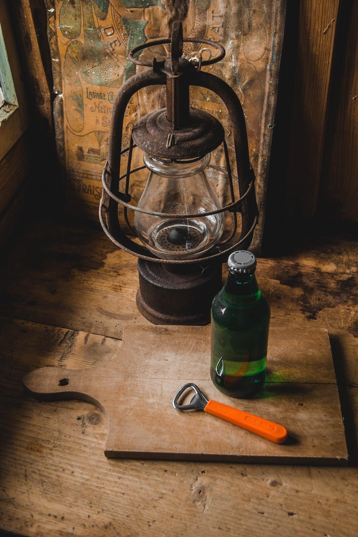 bottle opener beside bottle