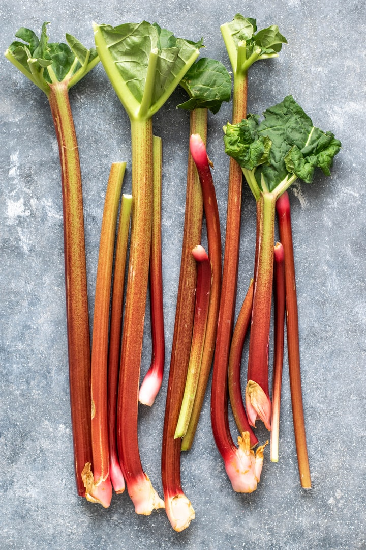 One-Bowl Rhubarb Crisp