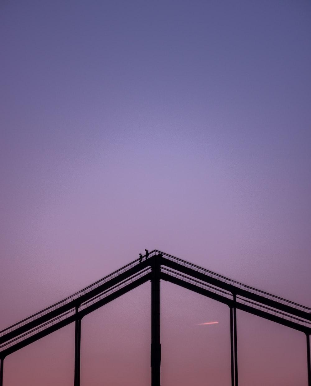 black framed balcony close-up photography