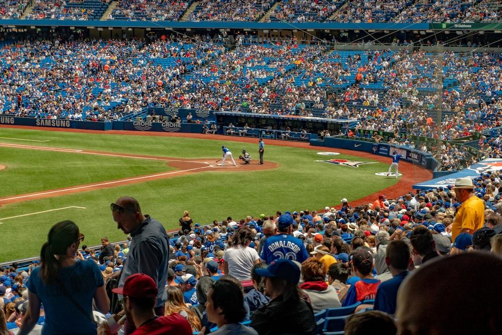 in game baseball field