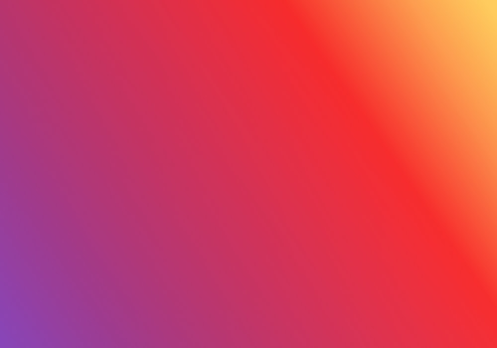 Dark purple to red to orange gradient