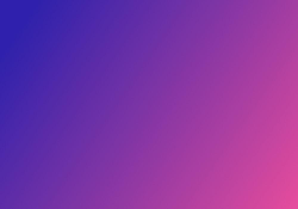 Blue to purple gradient