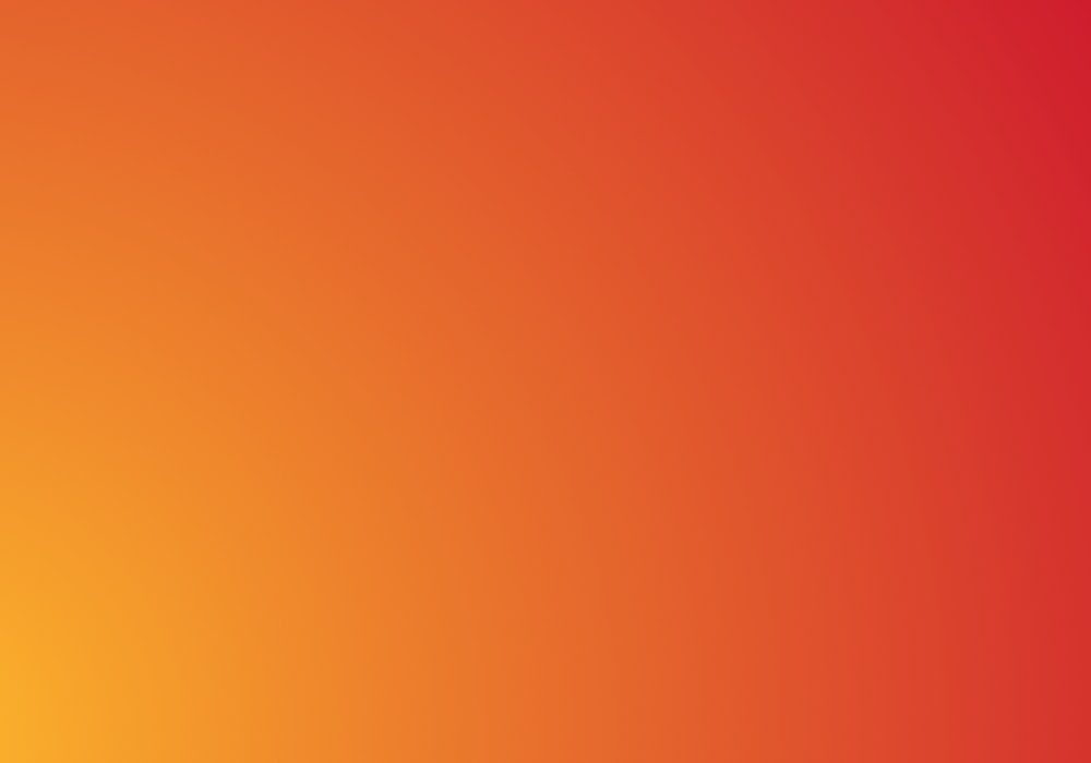 Bright orange to dark red gradient