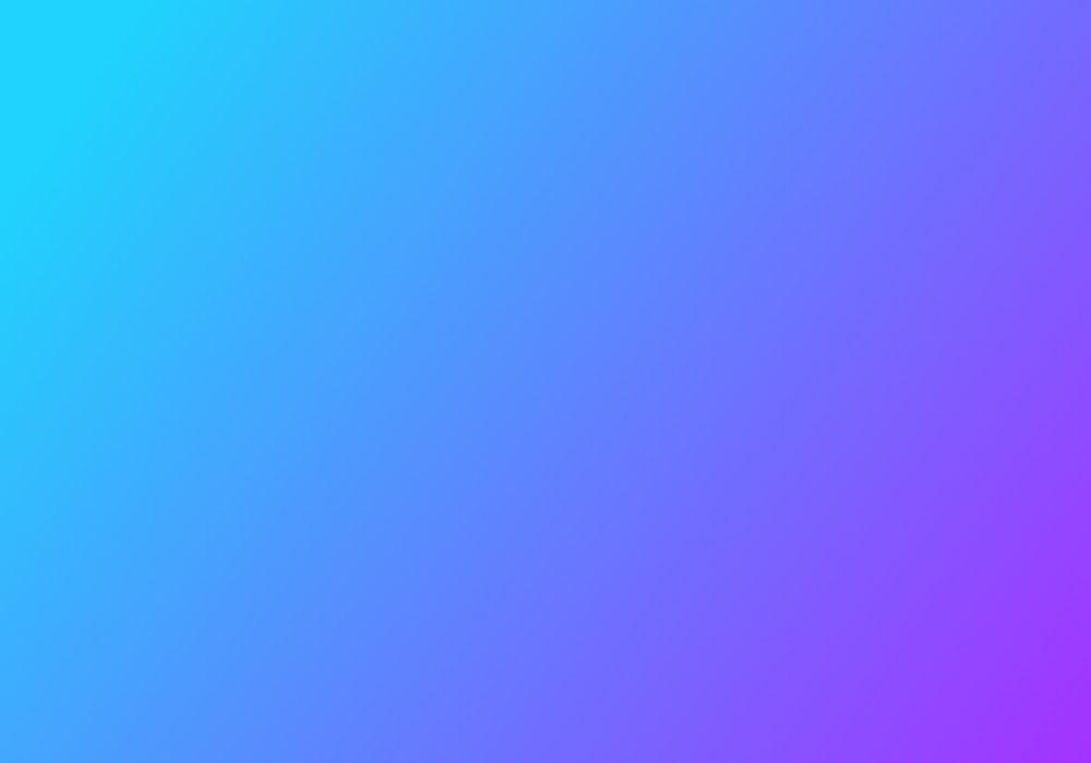 Light blue to purple gradient