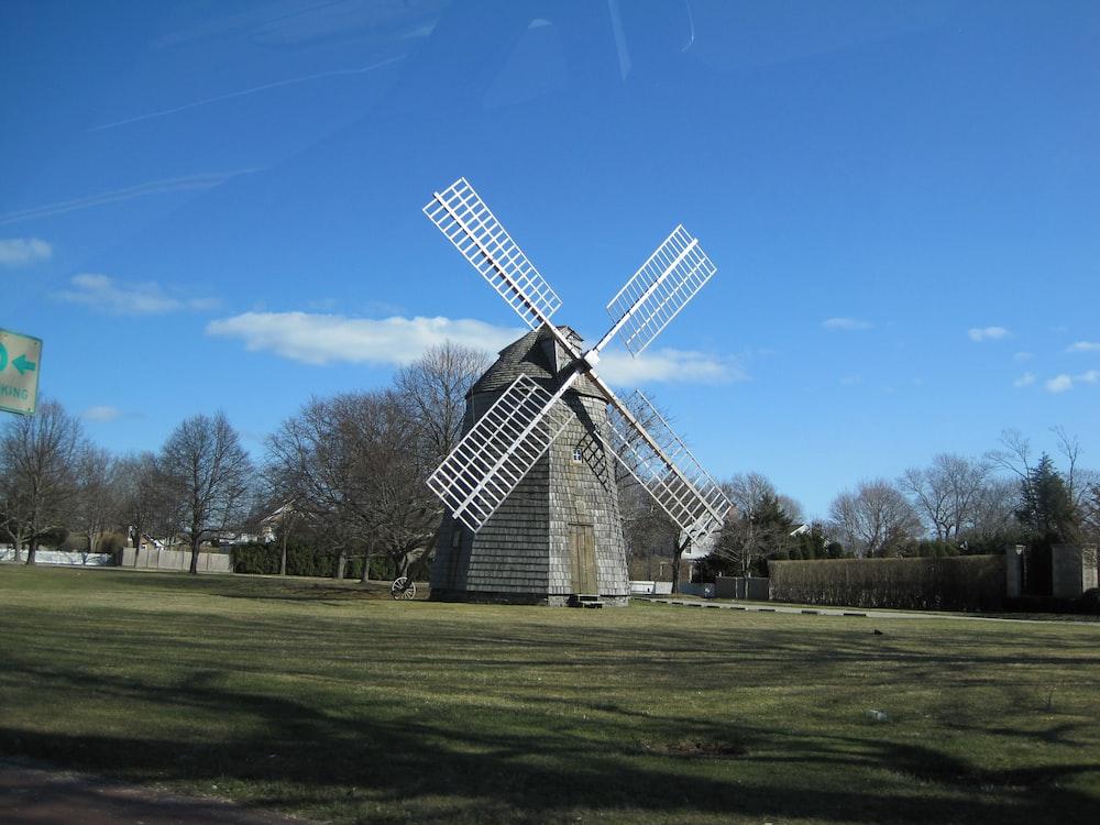 grey windmill