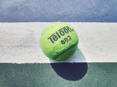 green teloon tennis ball us open tennis zoom background