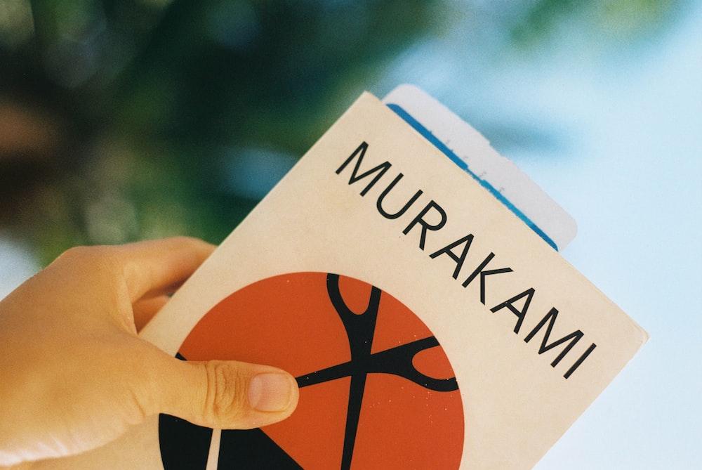 Murakami labeled book