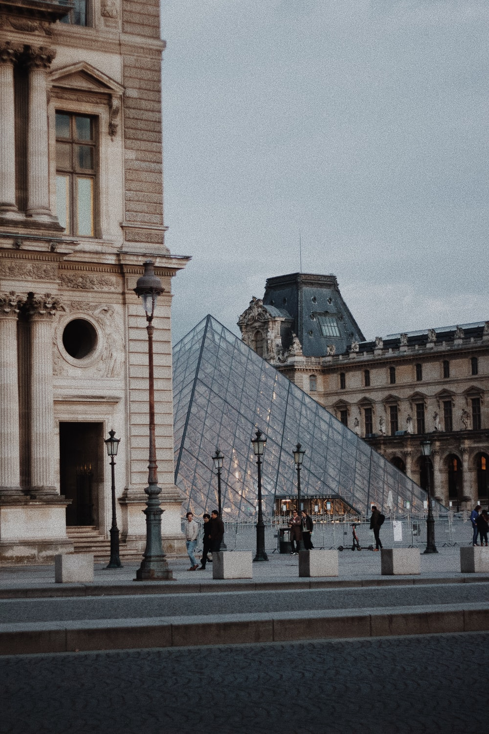 Louvre Museum during daytime