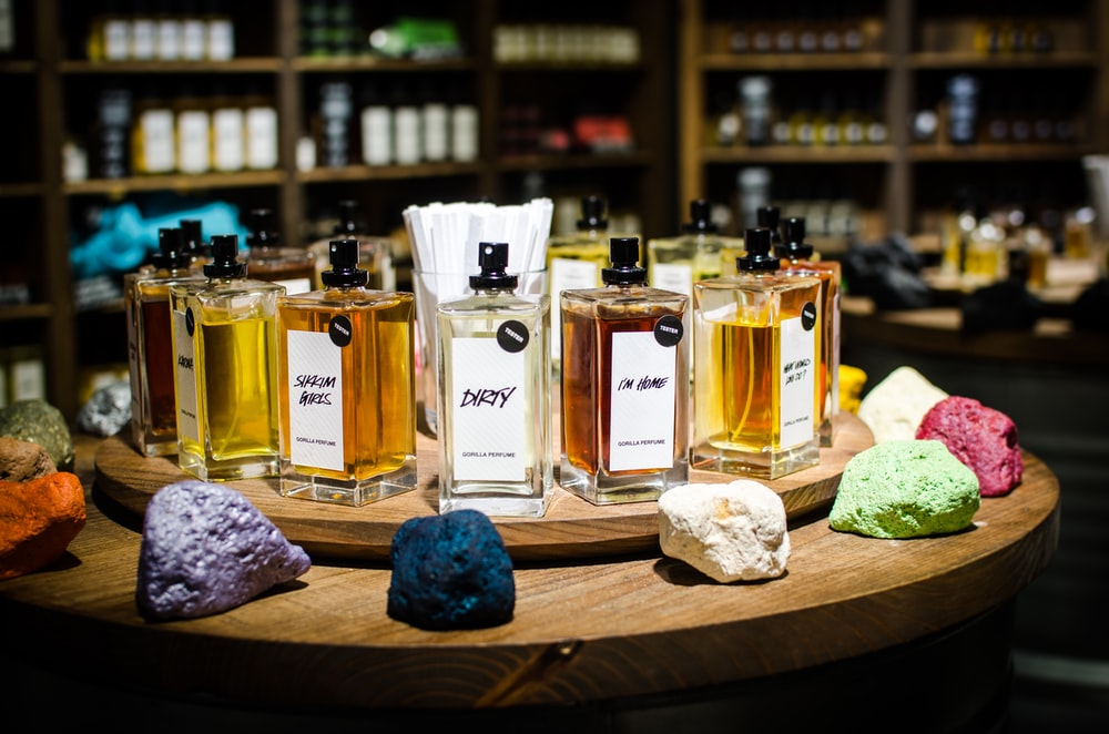 fragrance bottle lot