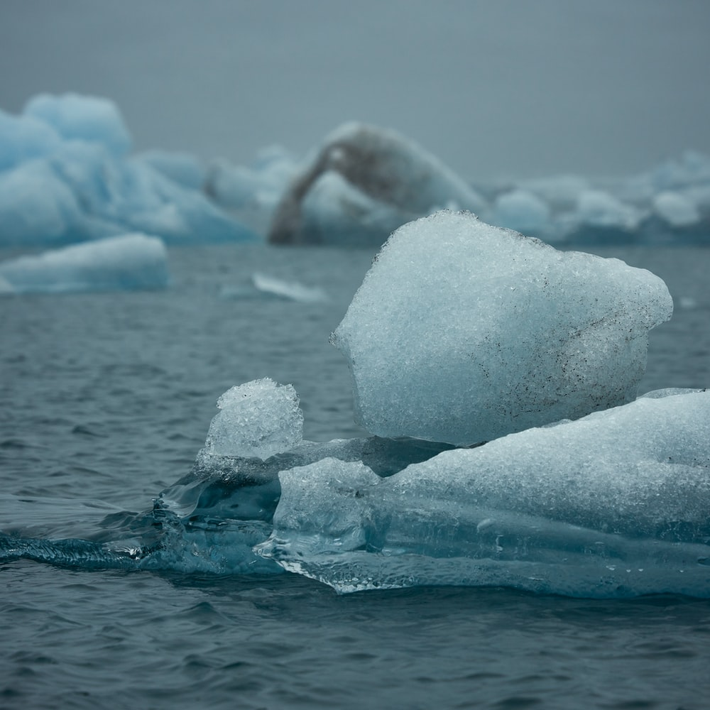 iceberg during day