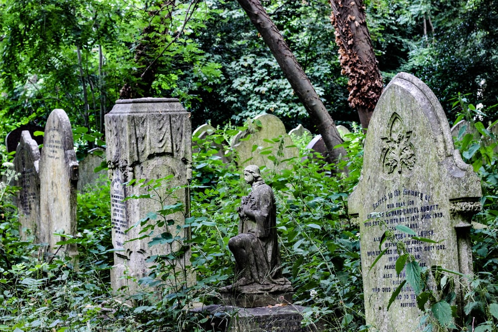 gray tombs