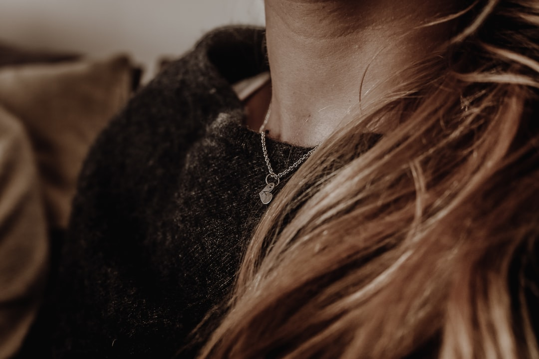 Sometimes she wears her heart on her sleeve. Sometimes she wears it on her chest too.