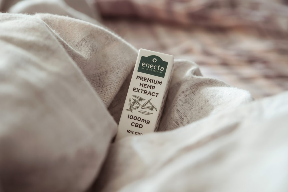 white box on white textile