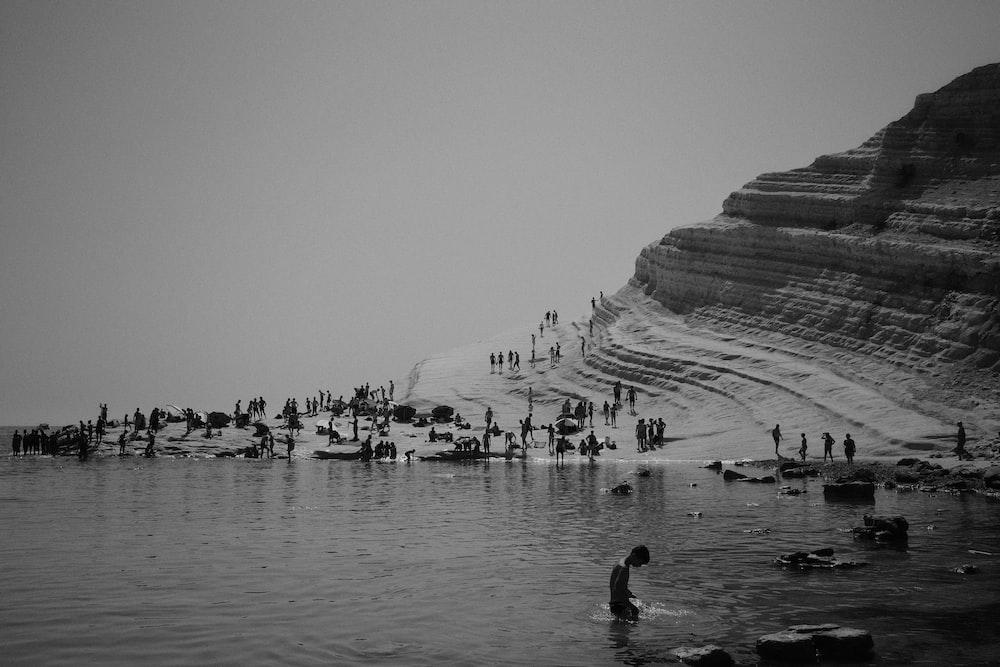 people near ocean