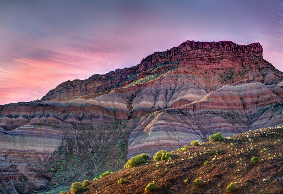 Sunrise at the ghost town of Old Paria, in southern Utah