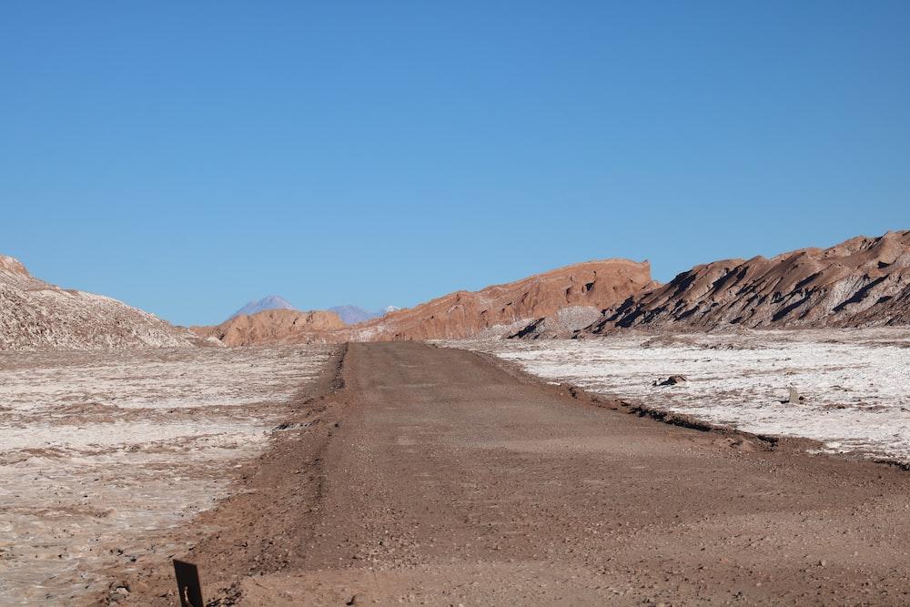landscape photo of a desert