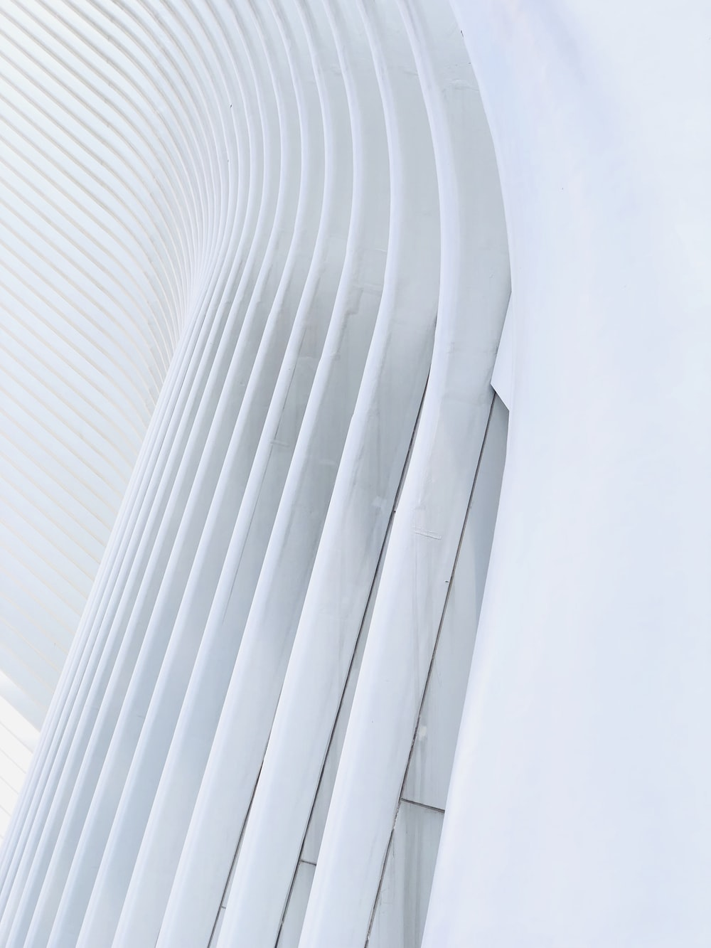 architectural photo of a white building