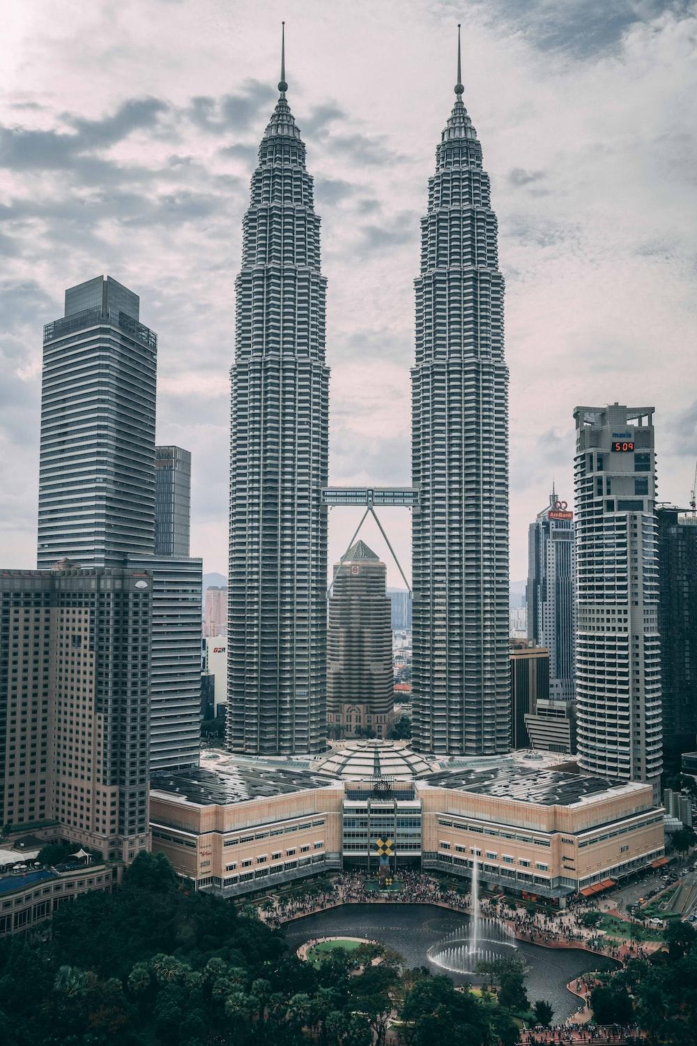 Petronas Twin Towers, Kuala Lumpur, Malaysia during daytime
