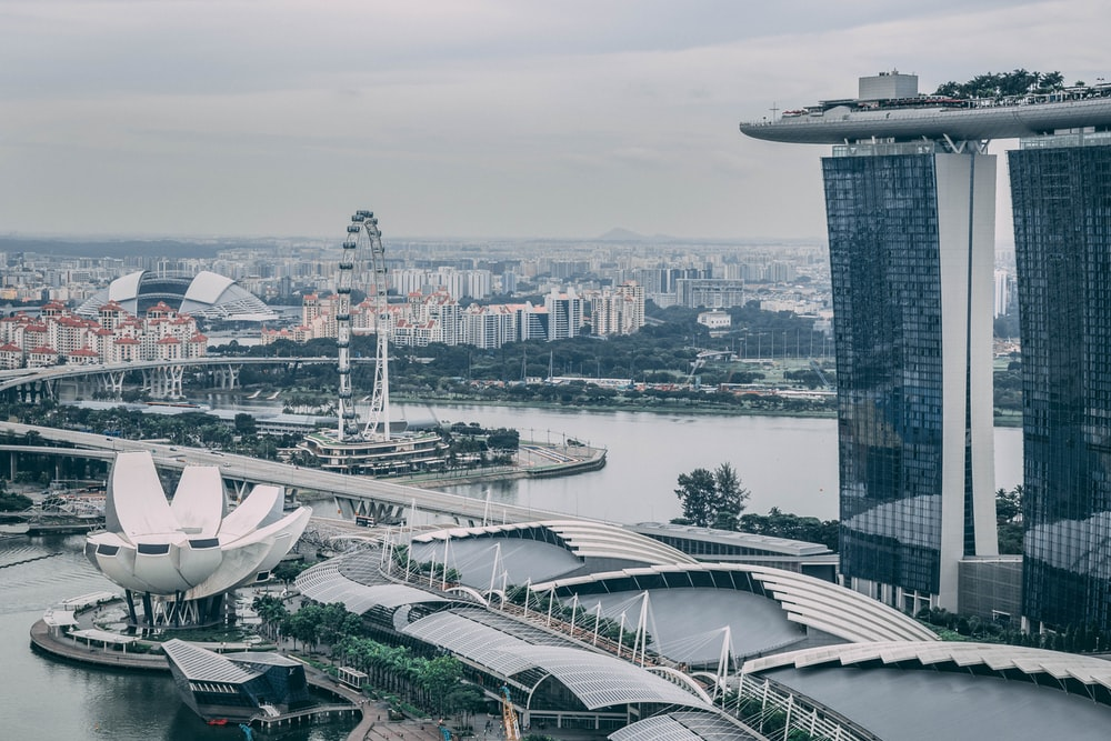 Marina Bay Sands, Singapore during day