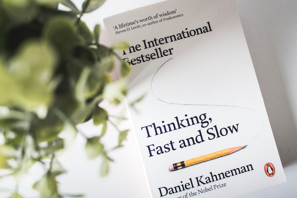 Thinking Fast and Slow book by Daniel Kahneman