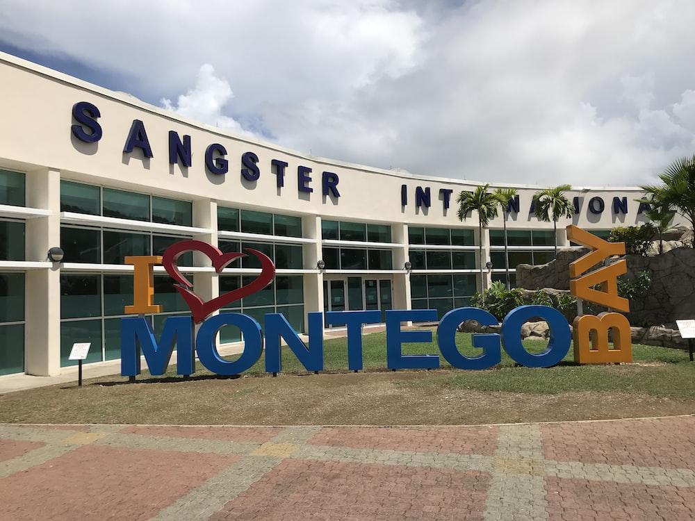 I love Montego Bay freestanding signage