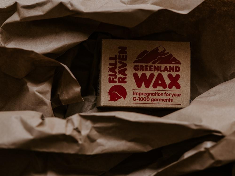 Fjal Raven Greenland wax box
