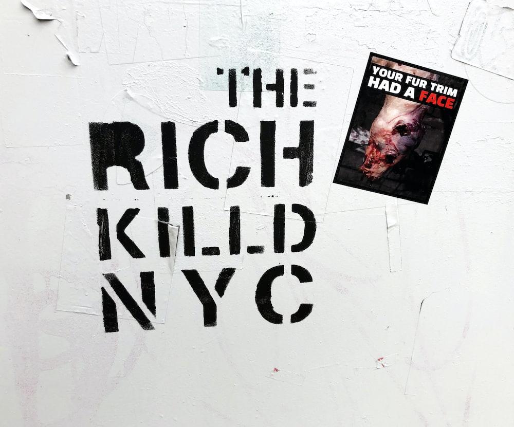 The Rich Killd NYC