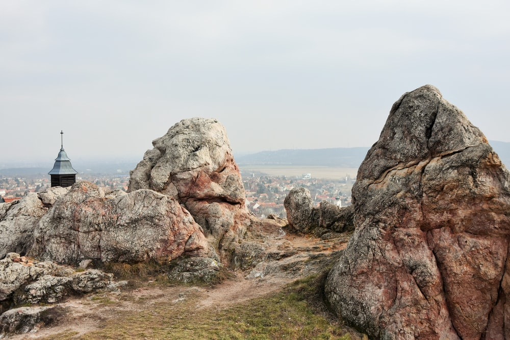 rock formation during daytime