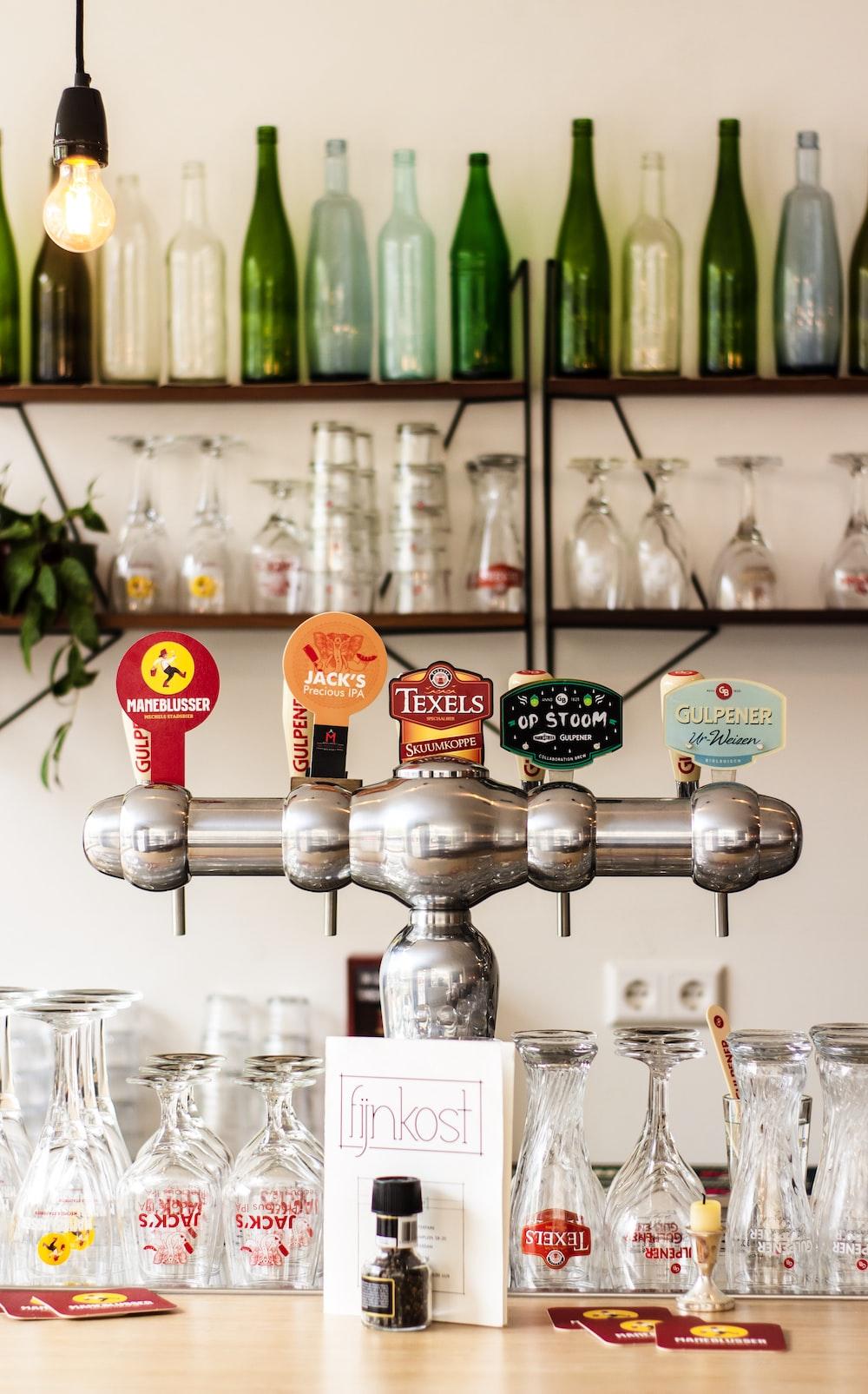 gray Beer tap