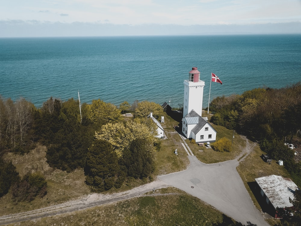 lighthouse near coastal area