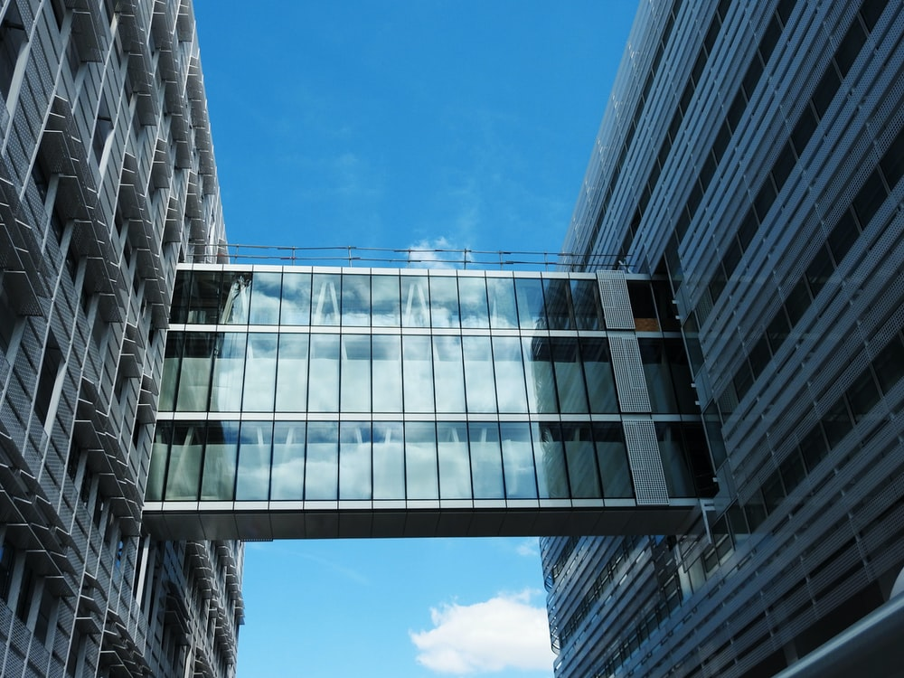 curtain glass building during daytime