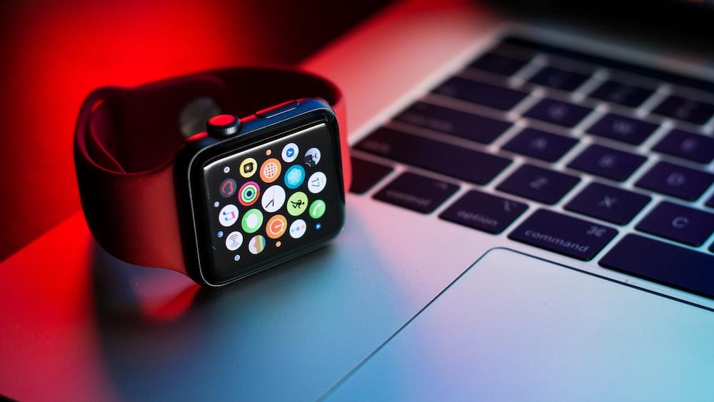 space black Apple watch