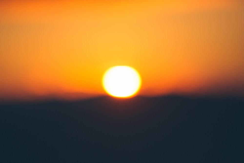 golden hour photo