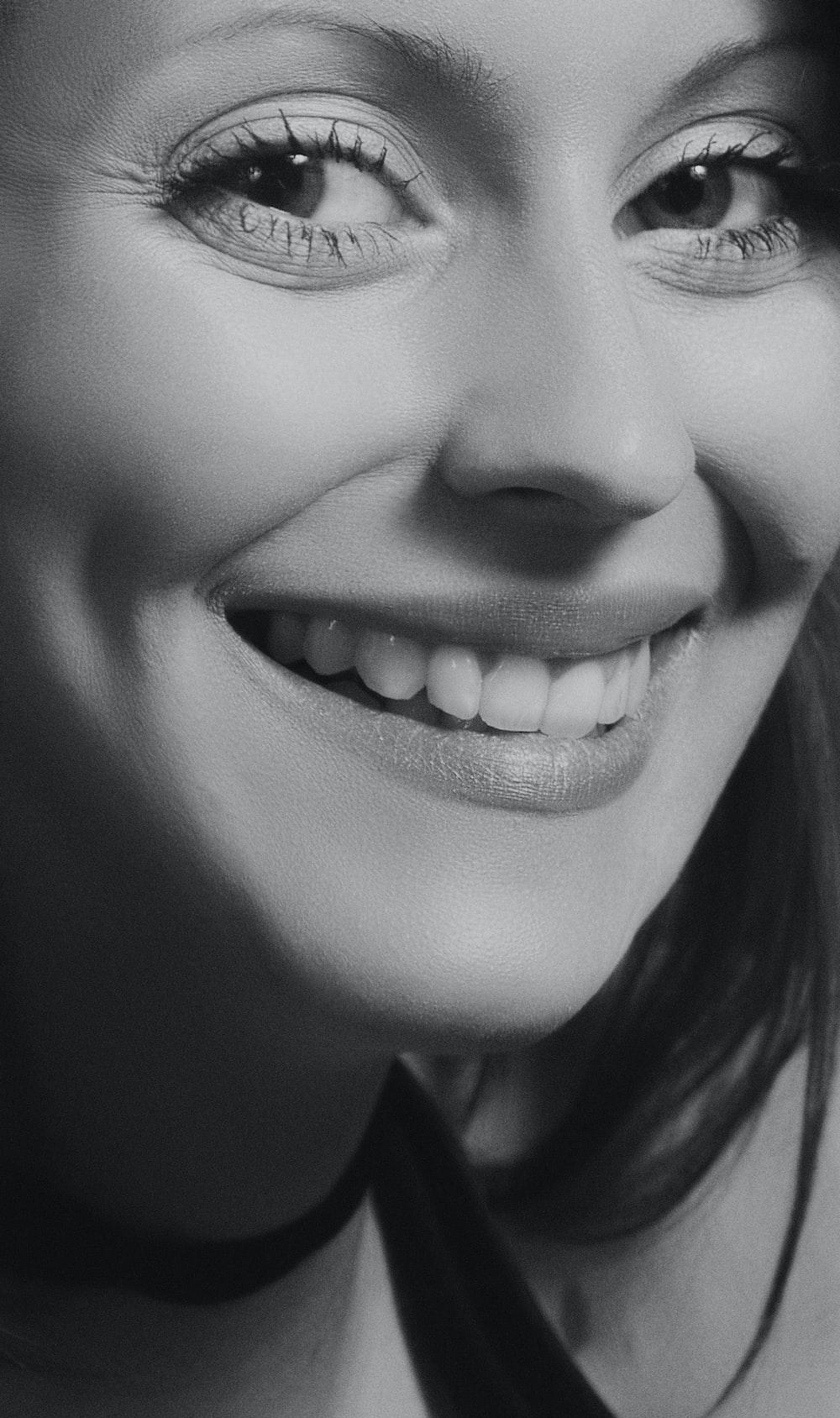 woman in halter top smiling