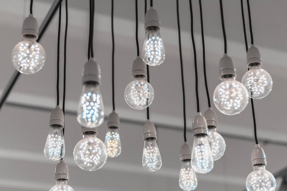 clear glass LED bulbs